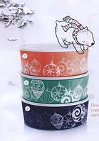 """Контейнер """"Акваконтроль"""" Новогоднее украшение"""" (1,5 л) в темно-синем цвете"""
