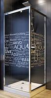 Душова кабіна 90х90 з піддоном 14,5см Aquaform NIGRA (103-40082+103-40092+201-06911) Польща