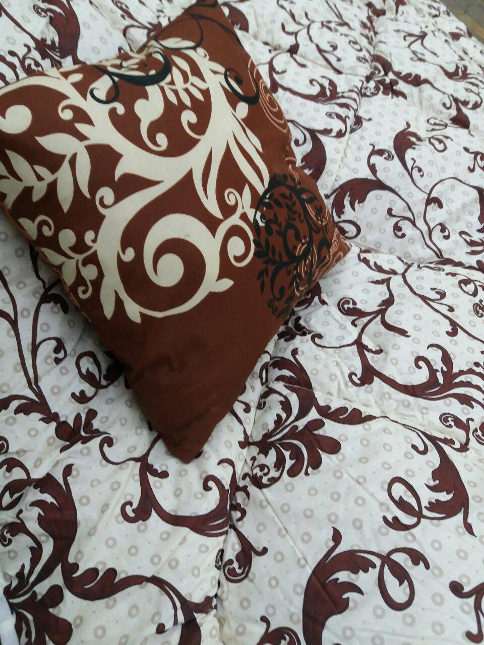 Теплое одеяло овчина двухспальное бязь-коттон