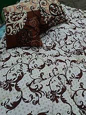 Теплое одеяло овчина двухспальное бязь-коттон, фото 2