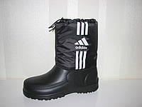 Непромокаемые мужские ботинки сапоги под Адидас больших размеров