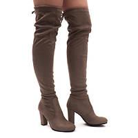 Женские ботфорты ,сапоги чулки выше колена размеры 36,40,41