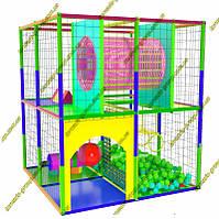 Игровой детский лабиринт для не большого помещения, фото 1