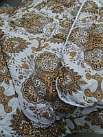 Теплое одеяло овчина двухспальное бязь-коттон, фото 1