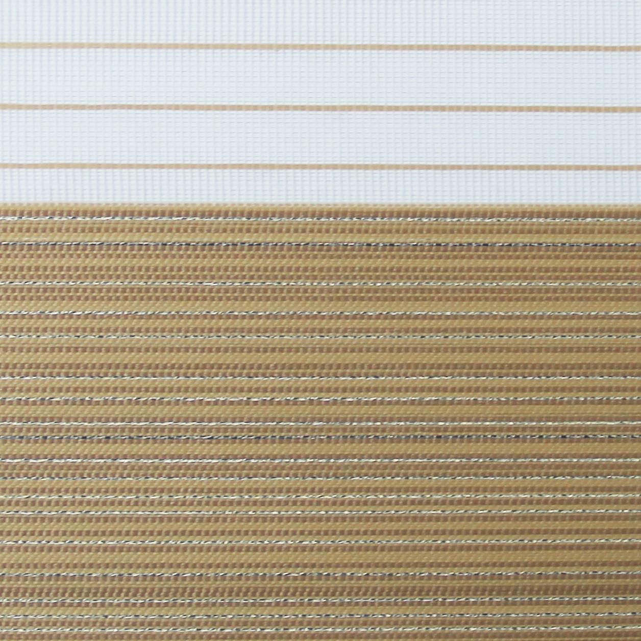 Рулонные шторы День-ночь Ткань Марсель Песочный
