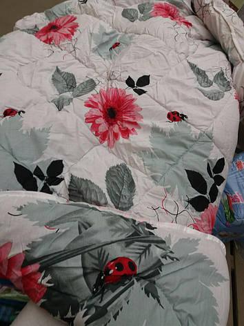 Теплое одеяло овчина евро размер бязь-коттон, фото 2