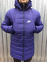 Мужская зимняя куртка длинная