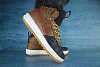 Мужские кроссовки Nike Lunar Черный/Рыжий 10529