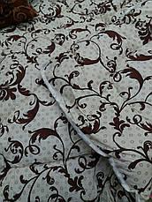 Теплое одеяло овчина евро размер бязь-коттон, фото 3