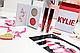 Дует KYLIE Kiss Me Mini Kit (2 теней + 2 помады) (реплика), фото 2