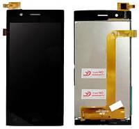 Дисплей (экран) + сенсор (тач скрин) FLY FS451 Nimbus 1 black (оригинал)
