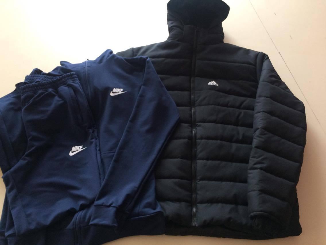 Мужская зимняя куртка+спортивный костюм