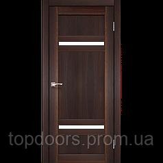 """Двери межкомнатные Корфад """"TV-03 ПО сатин"""""""