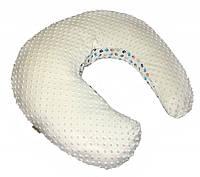 Подушка для беременных Twins Minky ecru