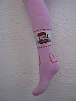 Колготи махрові, під памперс для дівчинки (1 рік)
