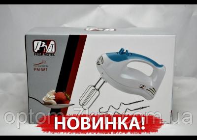 Ручной Миксер Pro Motec 587 am