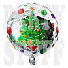 Круглый шарик Елочка, 44 см