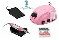 Фрезерный аппарат фрезер DM 212 30000 оборотов(30W) 30вт розовый