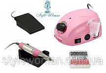 Фрезерний апарат фрезер DM 212 35000 оборотів(35W) 30вт рожевий