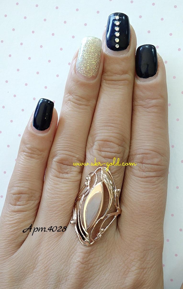 Золотое кольцо 585 пробы , арт.4028