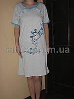 Женская ночная рубашка для кормления, цвета