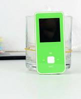 МР4 плеер M1 (цветной дисплей, радио, качеств. тканев. наушники, рус. меню) green