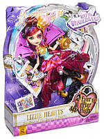 Кукла Mattel Ever After High Lizzie Hearts Лиззи Хартс Дорога в Страну Чудес  CJF43