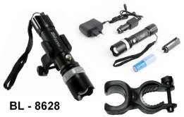 Велосипедный фонарик аккумуляторный Police BL- Т8628