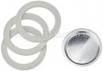 Прокладка для кофеварки, силиконовые диски и фильтр 3 чашки FRU-441A