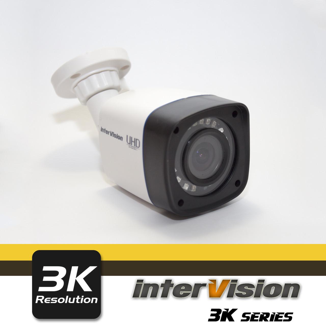 UHD-3K-3WI уличная 4MP видеокамера, угол обзора 130°,Ик  28 метров