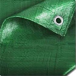 Тент тарпаулин зеленый 150гр./м2