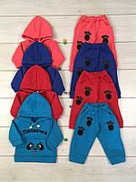 Спортивный костюм детский теплый 1094 Пандочка, трехнитка, р.р.24-30