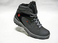 Зимние мужские кожаные ботинки Columbia 601