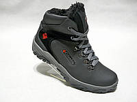 Зимние мужские кожаные ботинки Columbia 601, фото 1