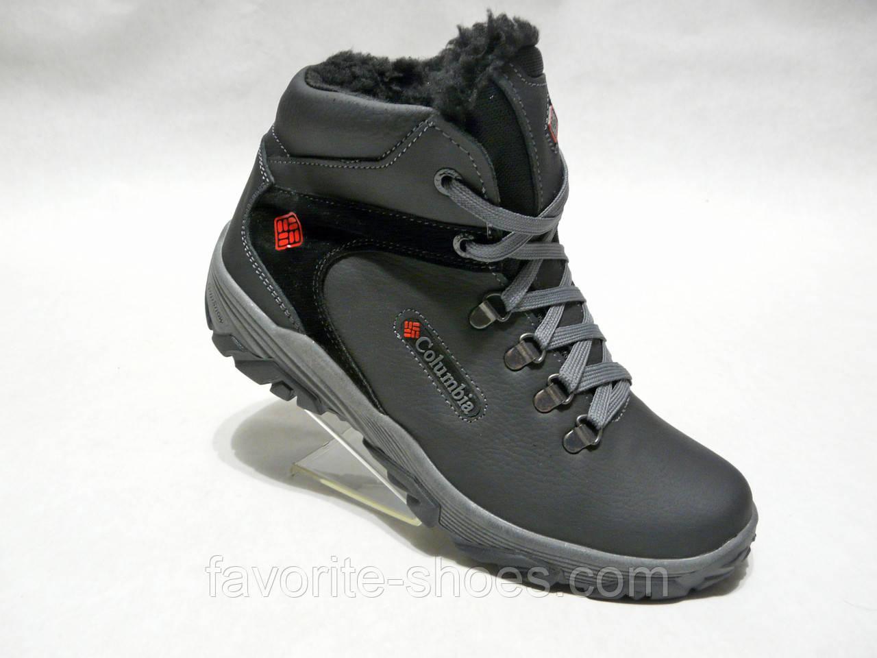 ae47be34a02b Зимние мужские кожаные ботинки Columbia 601 - Интернет - магазин