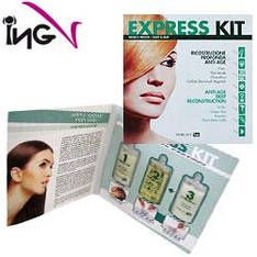 "ING Express Kit Набор для ""шокового"" восстановления волос 3*10ml"