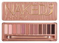 Тени для макияжа 12 оттенков Naked 3 Urban Decay Реплика