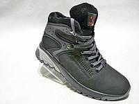 Зимние мужские кожаные ботинки columbia спорт