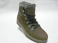 Зимние мужские кожаные ботинки columbia club shoes 20