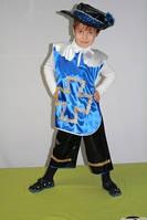 Детская новогодняя карнавальная шляпа мушкетера