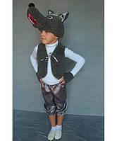 Детский карнавальный новогодний костюм Волк