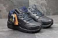 Зимние кроссовки Nike Air Huarache прескожа,мех искусственный,подошва резина, размеры:41-46 Вьетнам