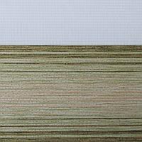 Рулонные шторы День-ночь Ткань Ницца Оливковый
