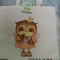 Эко-сумк ZOZ Совушка принцесса (Лен), фото 1