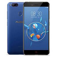 Смартфон ZTE Nubia Z17 mini Blue Qualcomm Snapdragon 652 6/64gb 2950 мАч