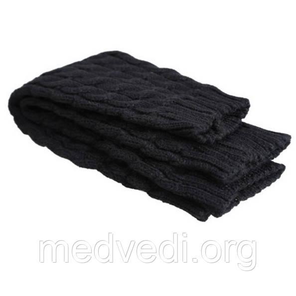 Черные женские гетры 38 см