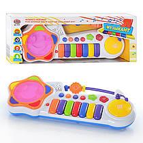 Пианино Орган Я Музыкант 7241 для малышейМузыкальная развивающая игрушка, рус.PLAY SMART с барабаном
