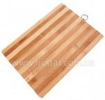 Разделочная доска деревянная 24x34 см. FRU-818