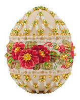 Наборы для плетения и вышивания Riolis Б-195 Яйцо пасхальное Примула ма 6х4,5