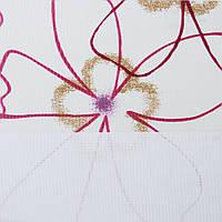 Рулонные шторы День-ночь Ткань Камелия Рубин